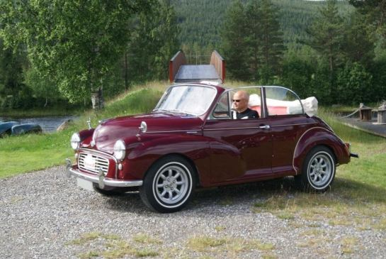 Morris Minor 1000 2-dørs Tourer Convertible 1961