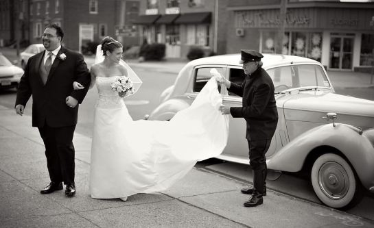 bryllupssjåfør - etikette 2